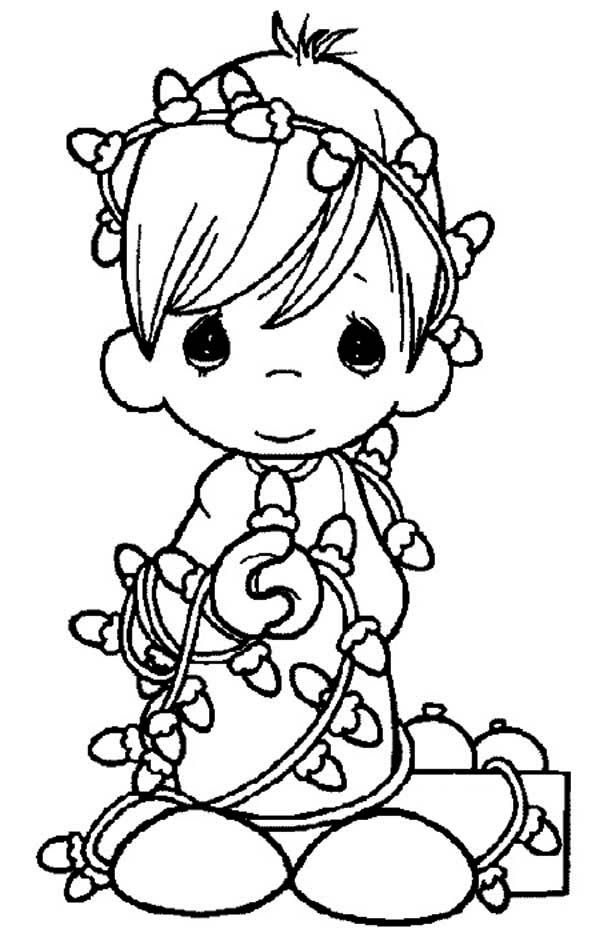 a savior precious moments coloring page  kids play color