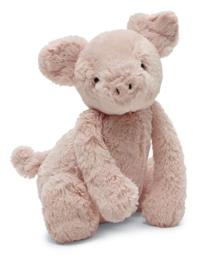 "Jellycat Bashful Piggy Medium 12"" Baby stuffed animals"