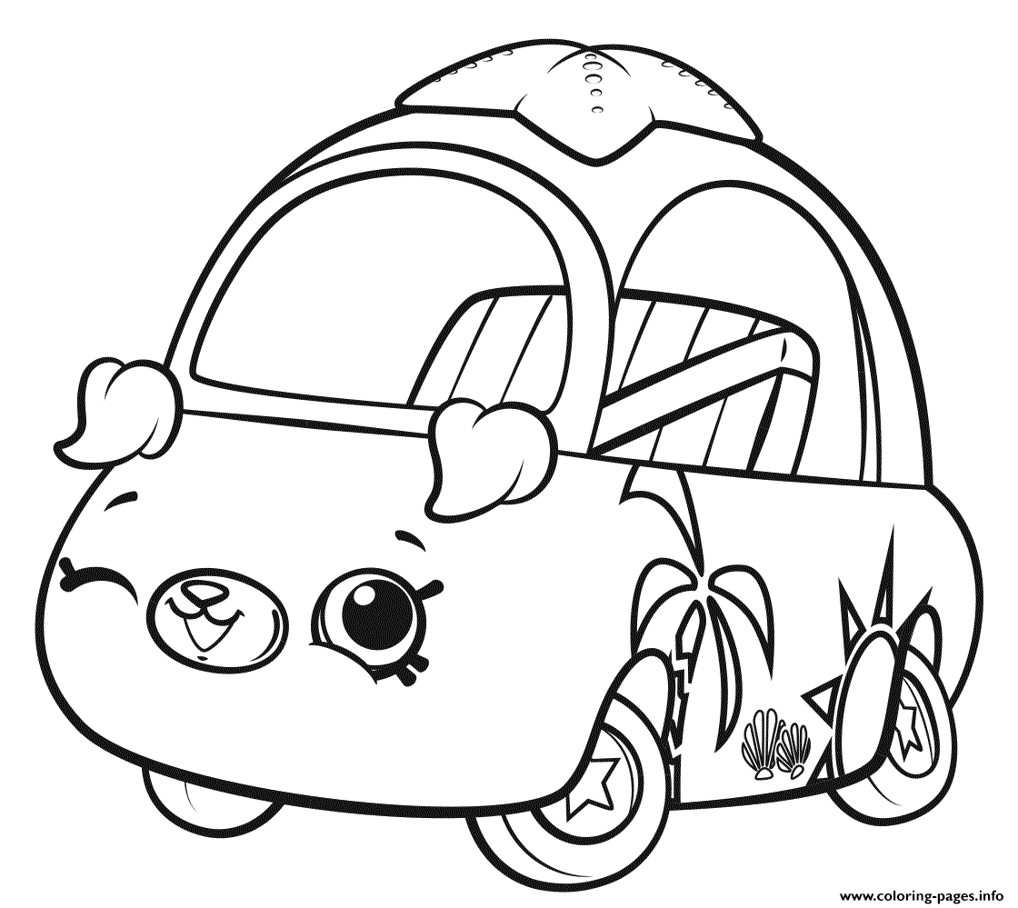 Print Shopkins Cutie Cars Wink Coloring Pages Cars Coloring Pages Shopkins Colouring Pages Shopkins Coloring Pages Free Printable