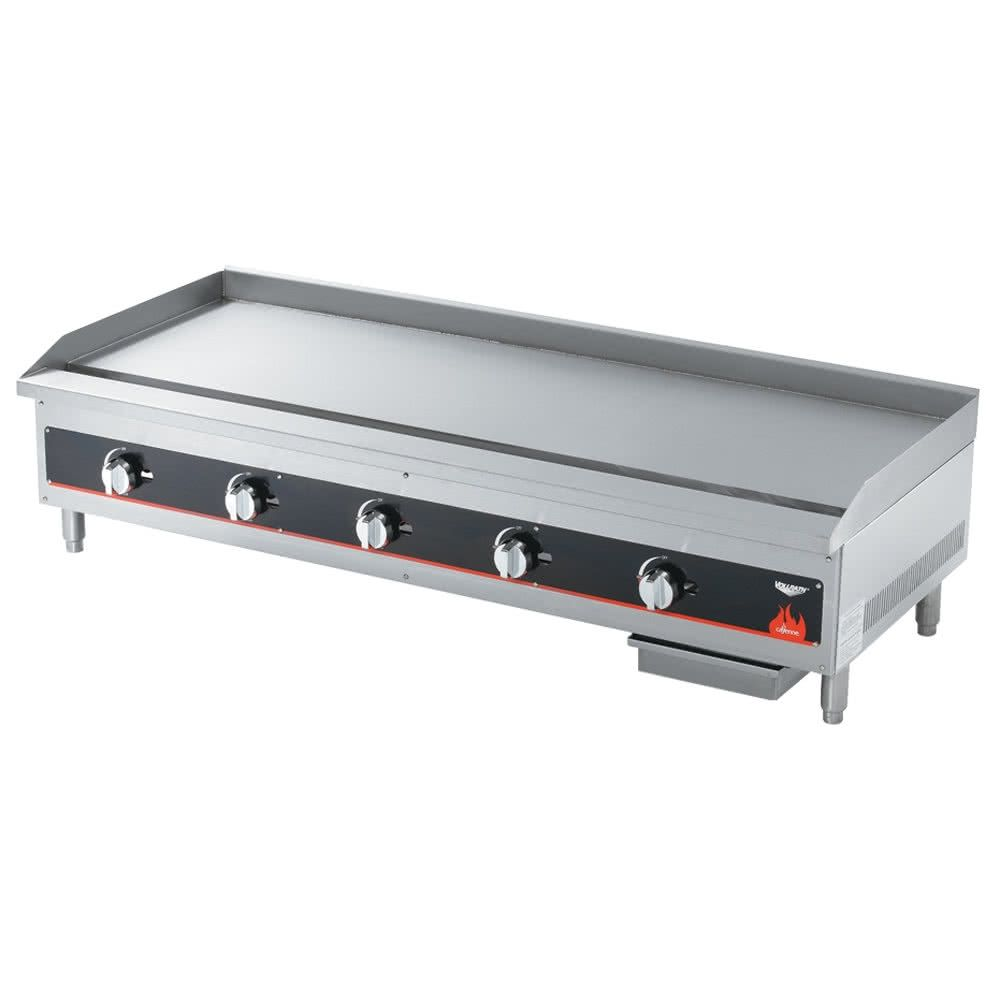 Vollrath 40839 Cayenne 48 Flat Top Gas Countertop Flat Top