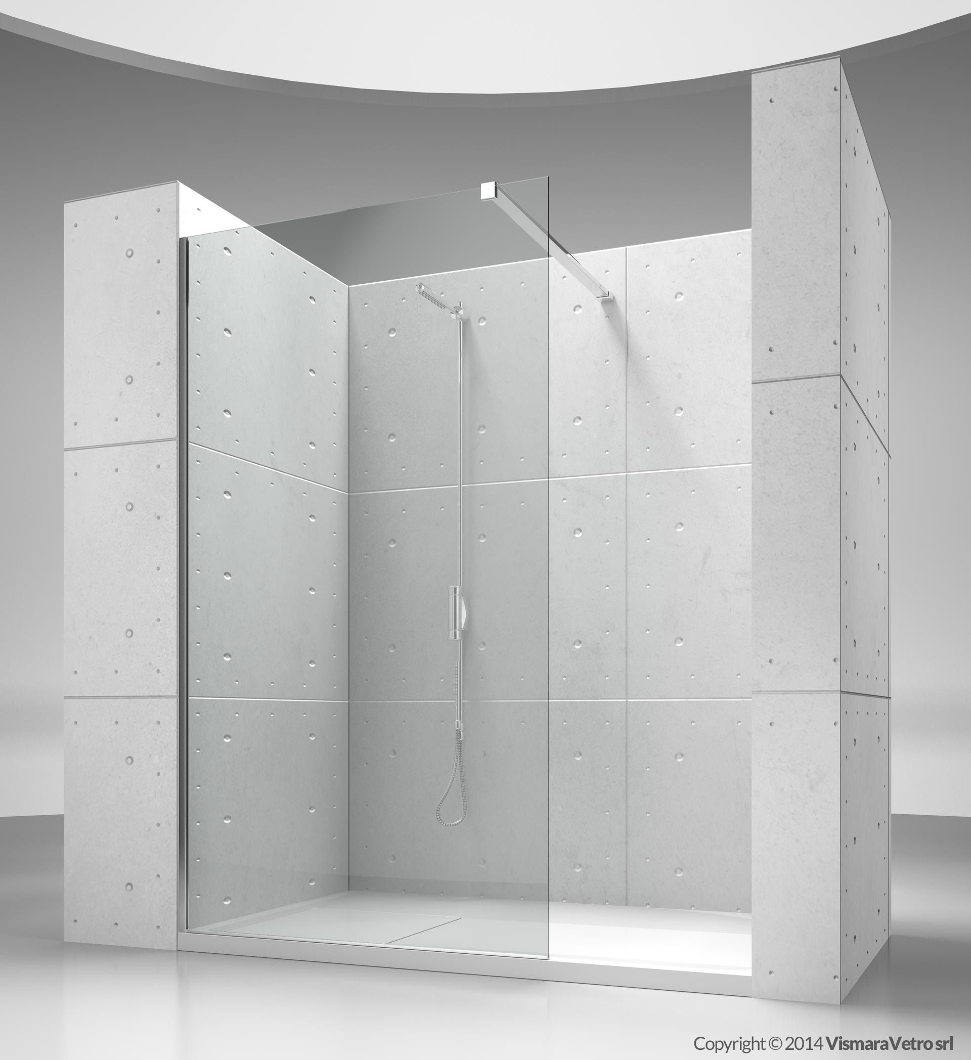 sk : sk-in shower enclosures models - fixed panel (walk in) | by ...