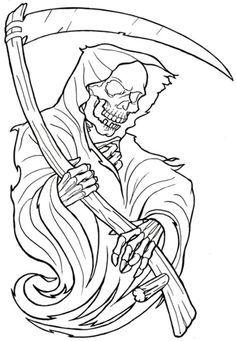 043b69fb6a1ebe6d6f54b0b833f15a5e Jpg 236 341 Tattoo Stencil Outline Grim Reaper Tattoo Reaper Tattoo