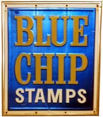 Blue Chip Stamps... I remember how excited Me & Vicki would get when a new catalog came out, all the things we could get for free, if Mom or Grandma didn't use all the stamps, One step down from the Sears  or Montgomery Wards Christmas catalogs to a 3 & 5 years old. Remember, They had a store you could go into to place your order and you'd go over to the conveyor belt to wait for your packages to arrive., I forgot ll about all that. What a great memory of my grandma & mother...