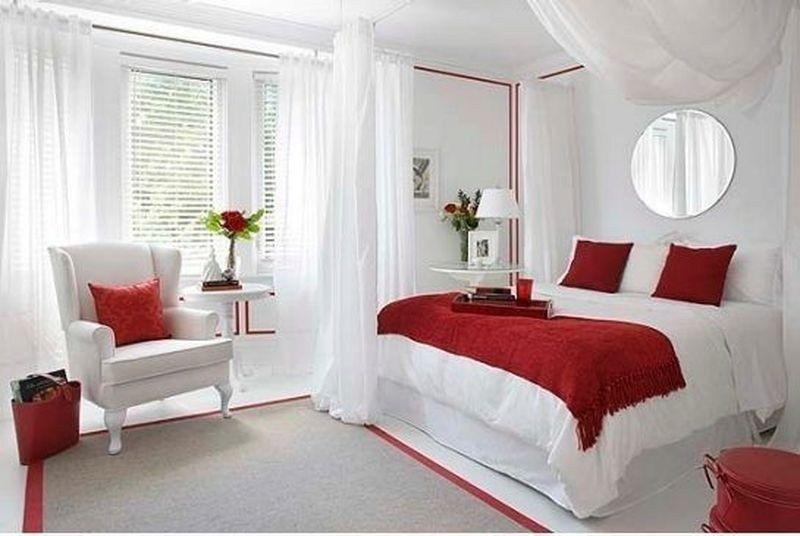 41 Romantic Master Bedroom Decor Ideas On A Budget In 2020 Romantic Bedroom Decor Apartment Bedroom Decor Red Bedroom Design