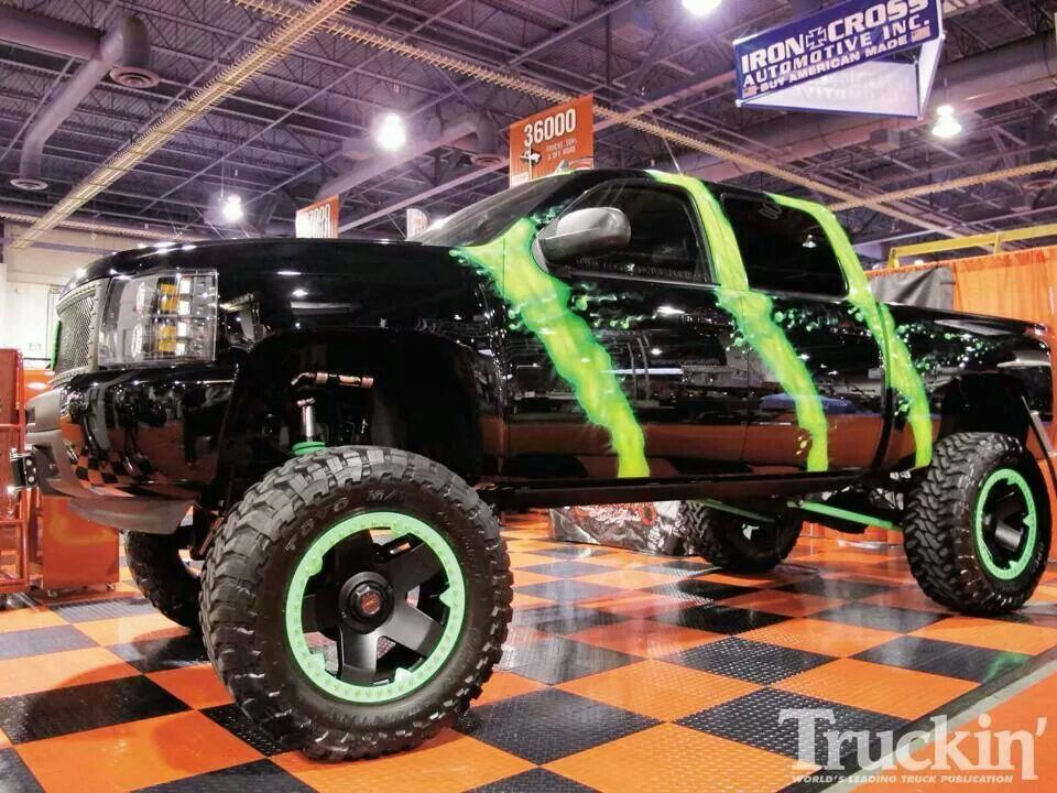 Monster (With images) | Jacked up trucks, Trucks, Lifted chevy