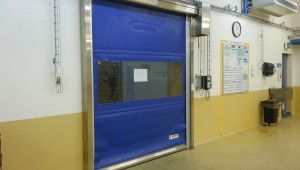 Speed Doors SPEEDY ROLL Inox – doors with stainless steel load bearing structure