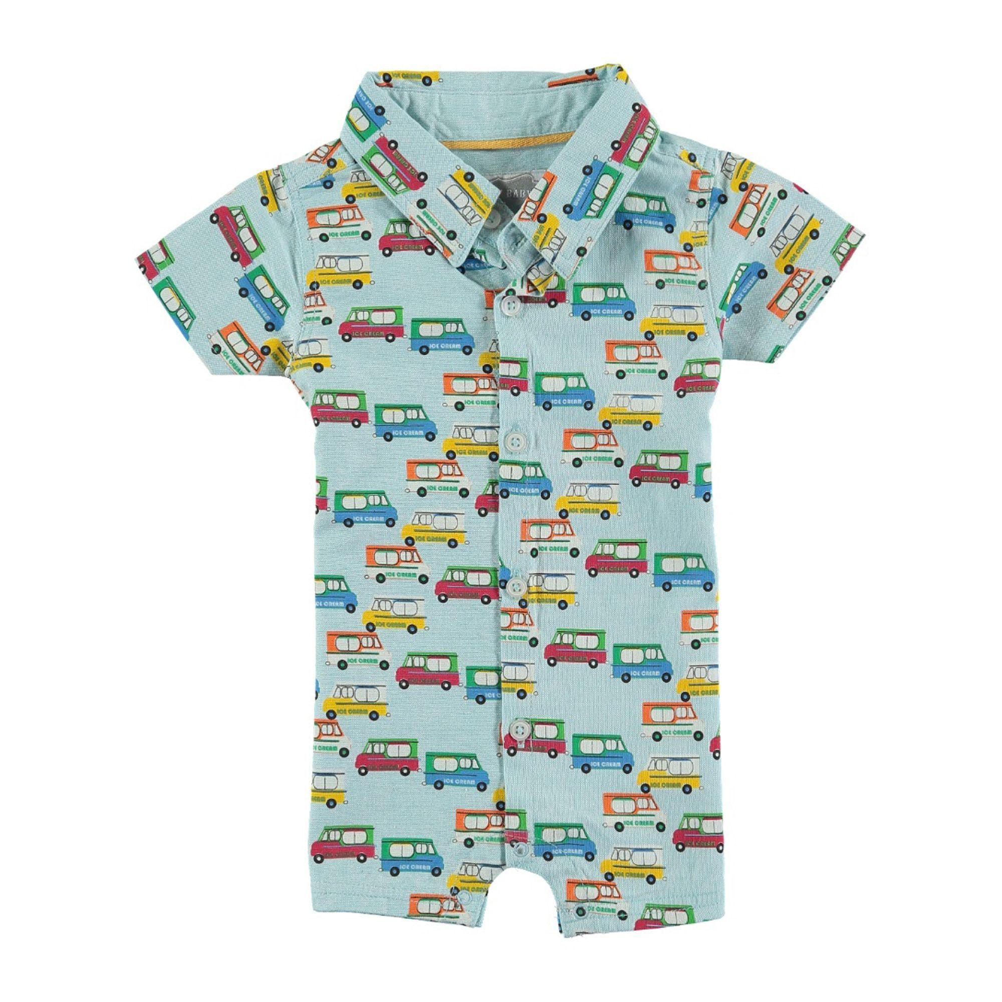 Rockin\' Baby Boys\' Ice Cream Van Woven Romper, Boy\'s   Products ...