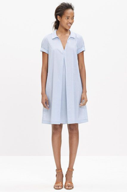 Proof The Shirtdress Is The Ultimate Workday Staple #refinery29  http://www.refinery29.com/shirtdresses-for-work#slide-15  Go out for a midday twirl in this voluminous number....