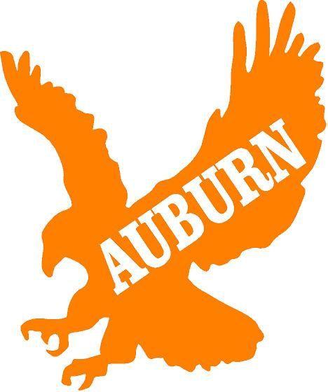Auburn Inspired decal by ShabbyChicVinyl on Etsy