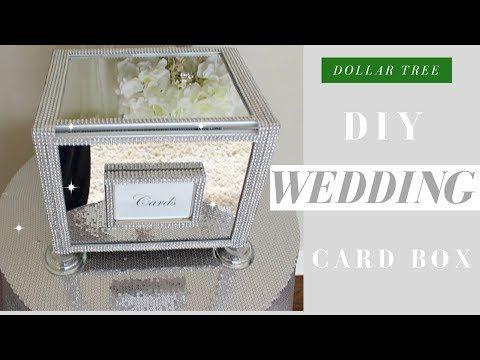 4 diy wedding card box dollar tree bling wedding card box 4 diy wedding card box dollar tree bling wedding card box youtube solutioingenieria Images