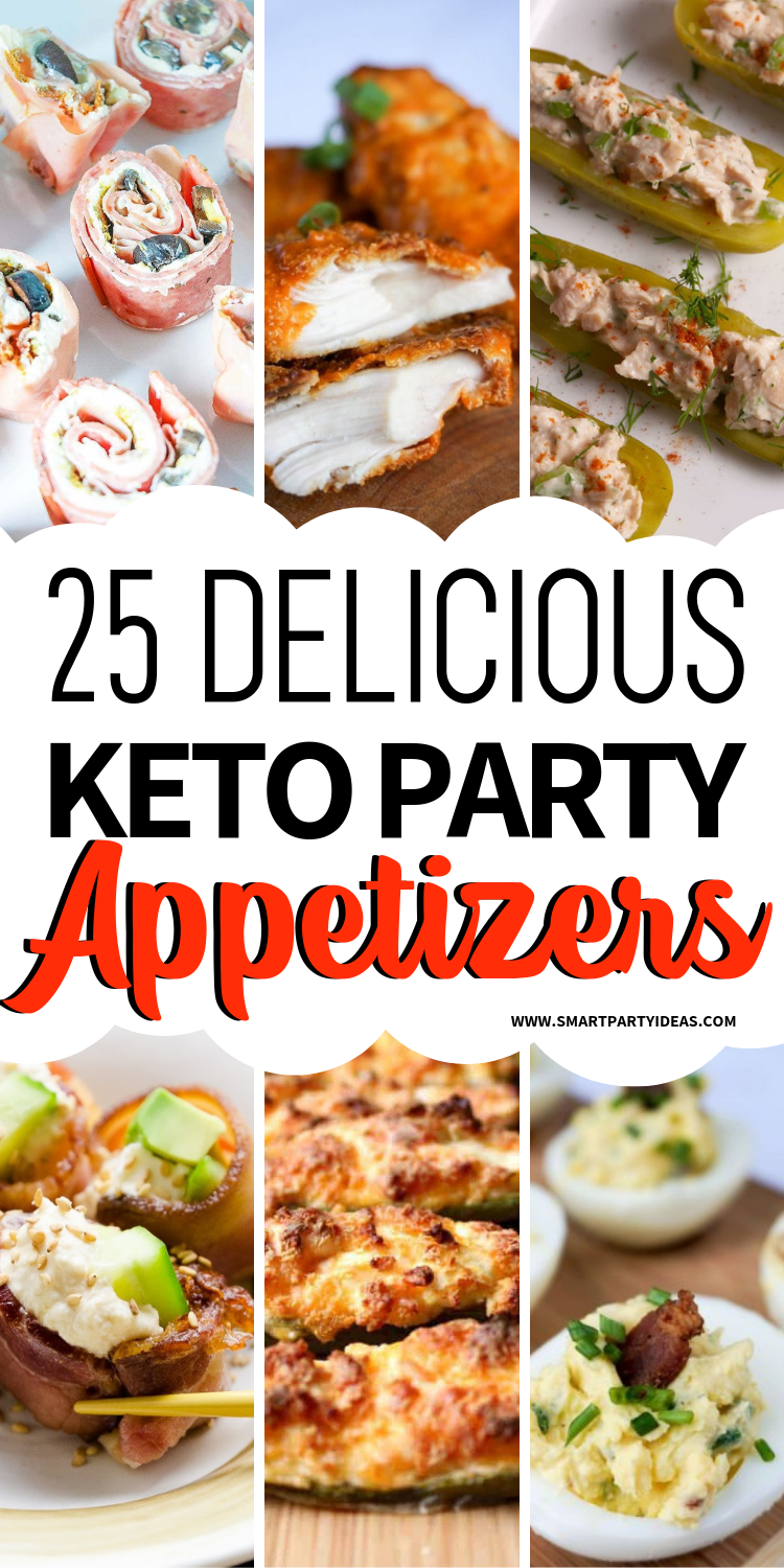25 Delicious Easy Keto Party Appetizers images