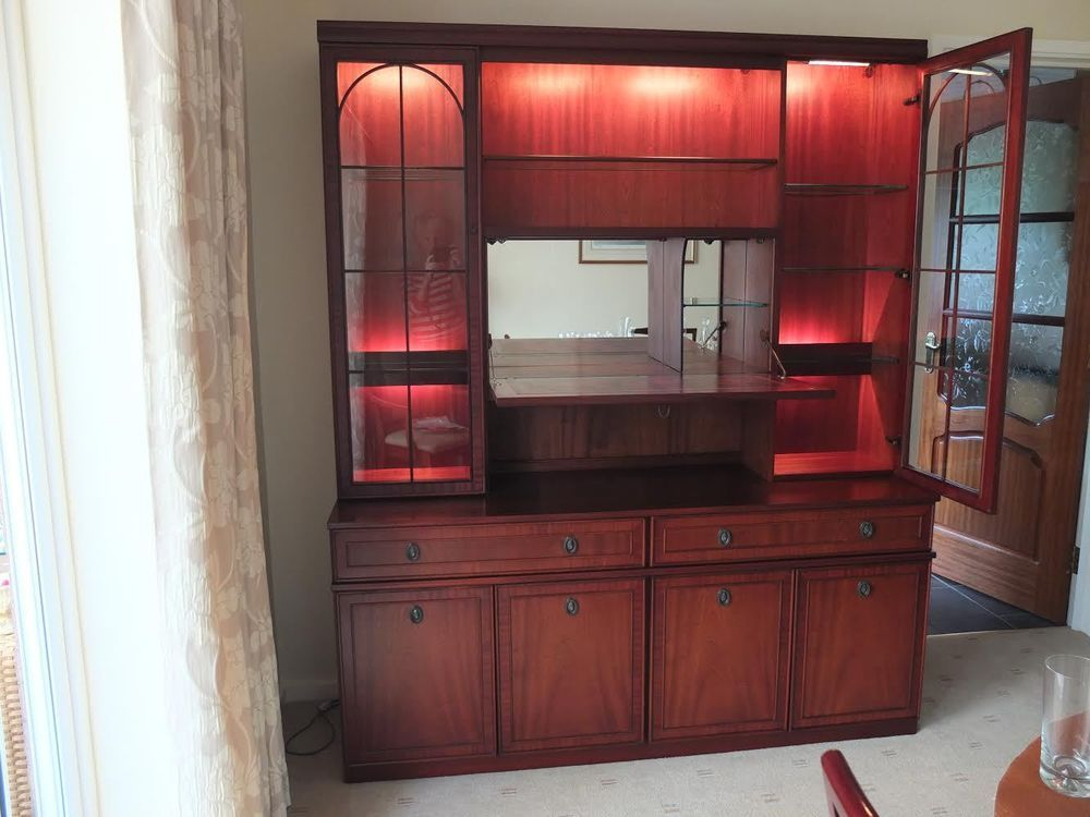 Wall Unit | Display Cabinet | Cupboards | Nathan Furniture ...