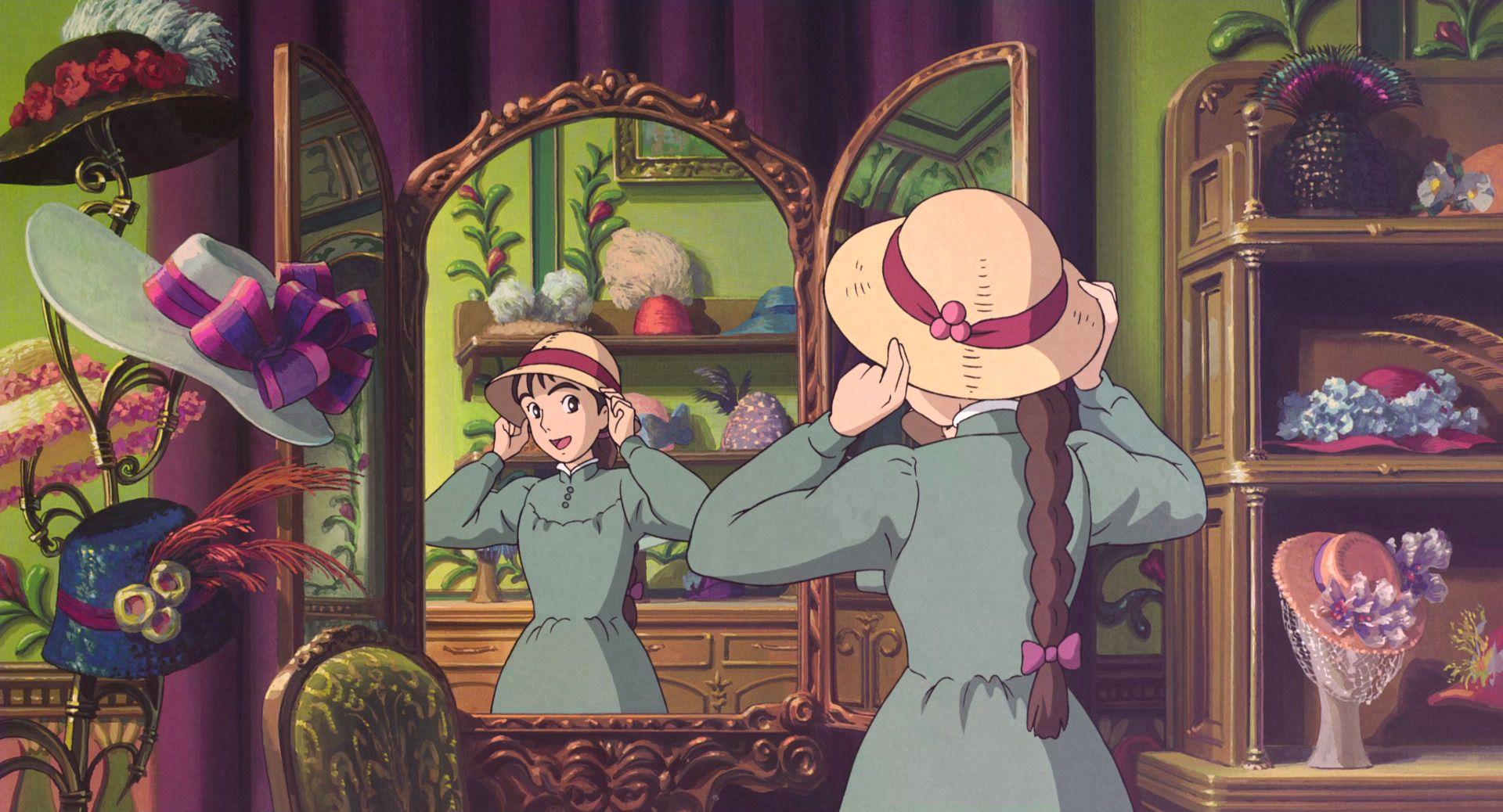 Howl S Moving Castle 2004 Disney Screencaps Howls Moving Castle Best Japanese Anime Studio Ghibli