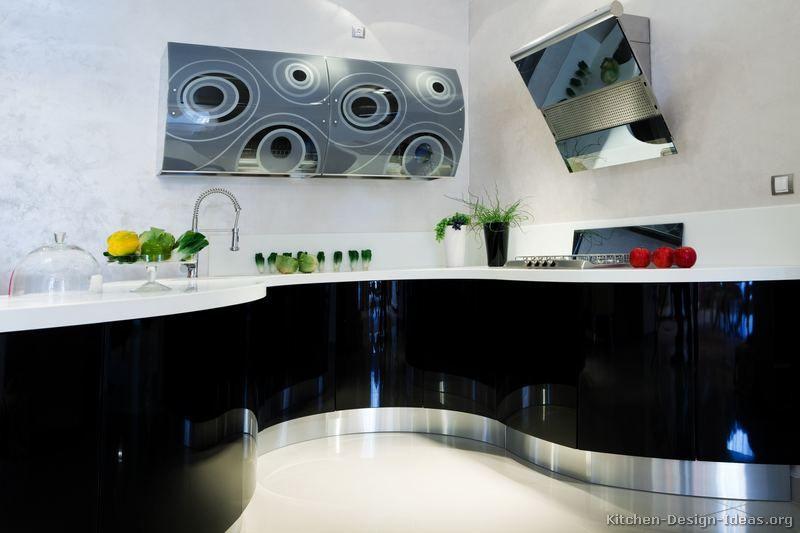 Awesome Modern Black Kitchen