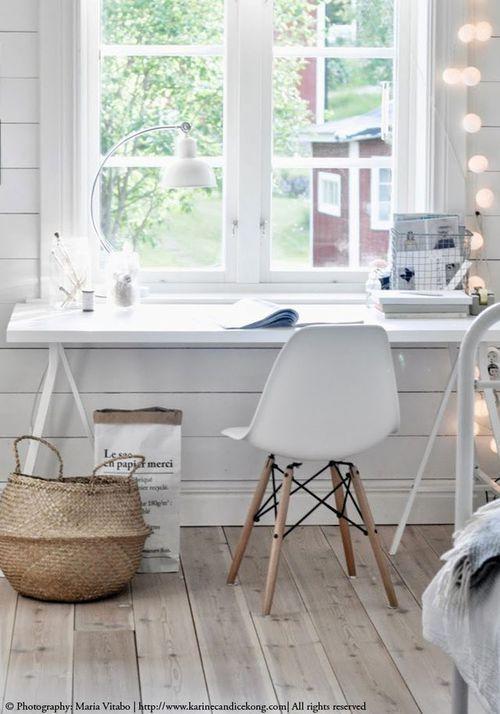 arbeitszimmer minimalistisch im skandinavischen stil einrichten und wohnen arbeitszimmer. Black Bedroom Furniture Sets. Home Design Ideas