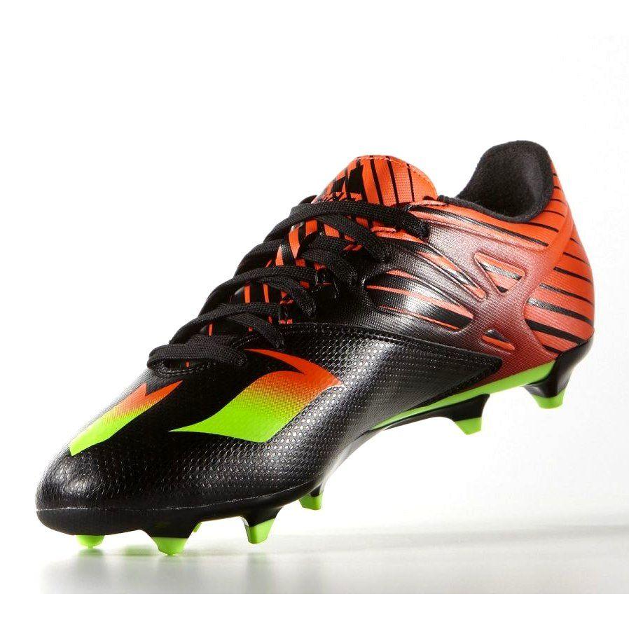 Buty Pilkarskie Adidas Messi 15 3 Fg M Af4852 Czarne Czarne Adidas Sport Shoes Messi