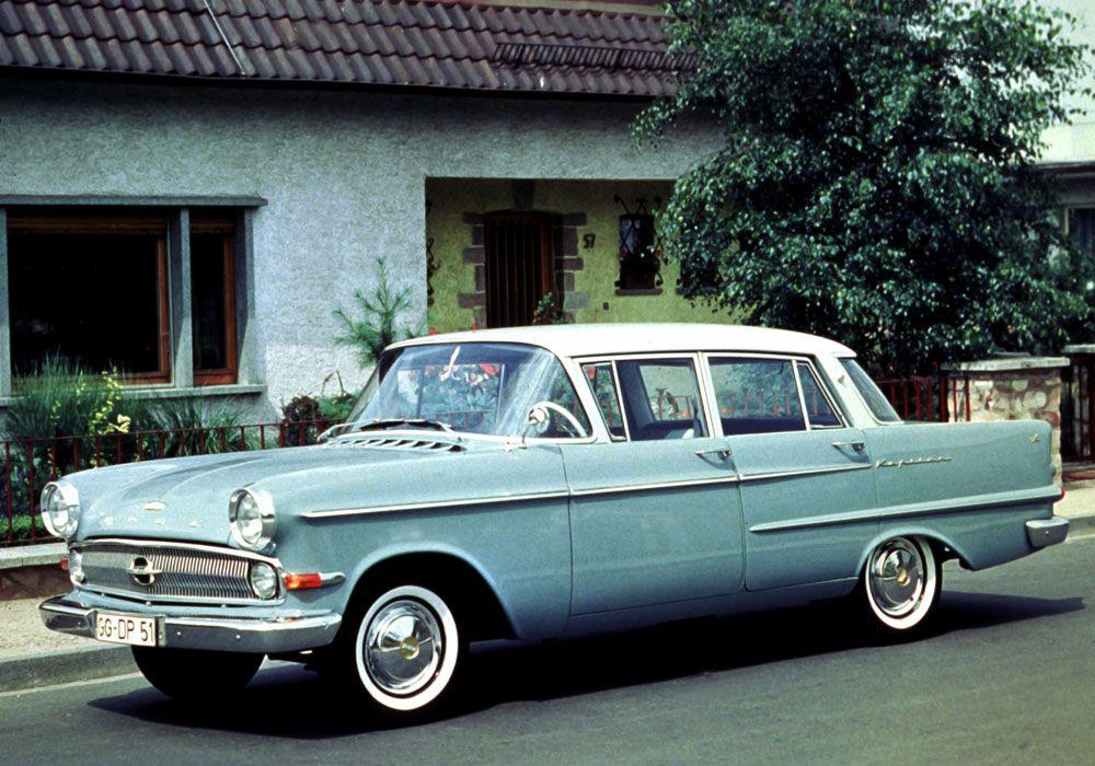 A Classic Belgian Wedding: Opel Kapitän 1960