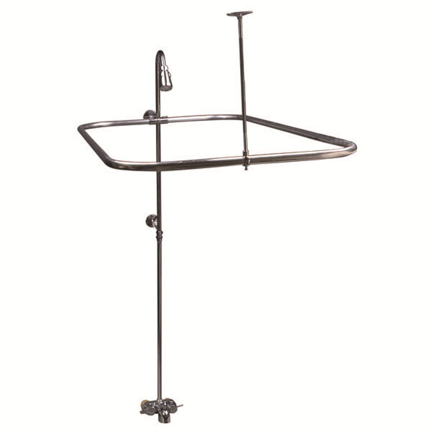101 Amazon Com New Add On Shower For Clawfoot Tub Includes