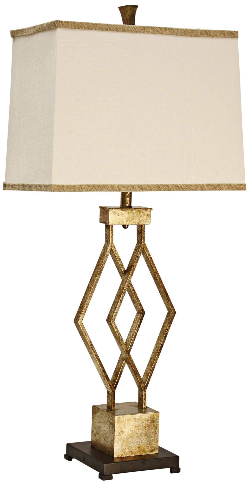 Lenor Gold Metal Table Lamp 18r28 Lamps Plus Gold Metal Table Table Lamp Vintage Table Lamp