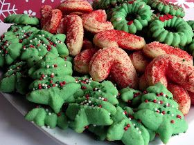 Baked Perfection: Christmas Cream Cheese Spritz Cookies