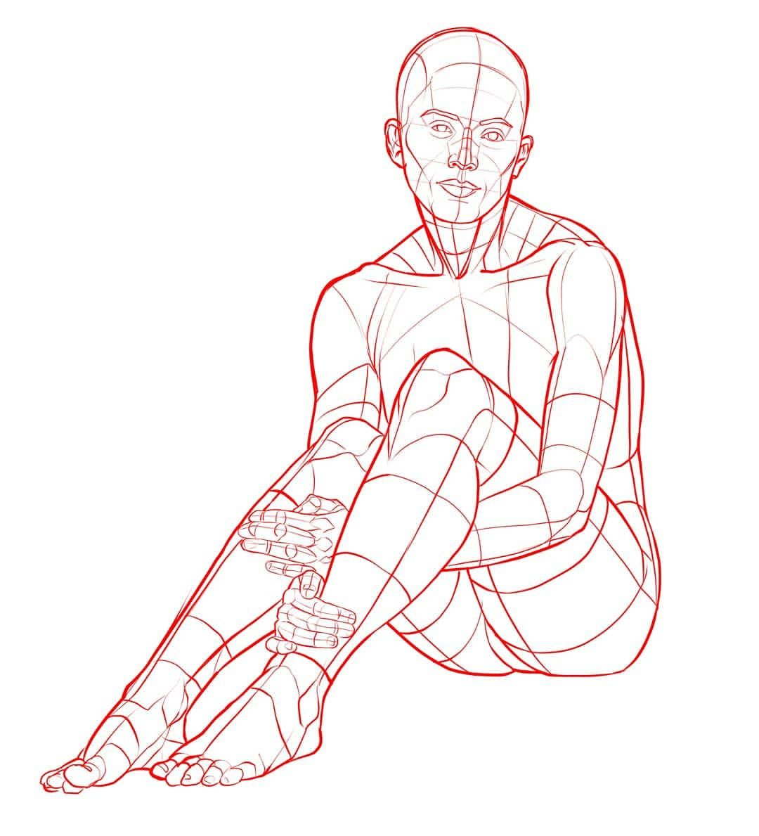 Female Sitting Posemuse Com Is Our Portal To Poses You Can Use For Your Own Art We Have Collected Thes Figure Drawing Reference Drawing Poses Figure Drawing