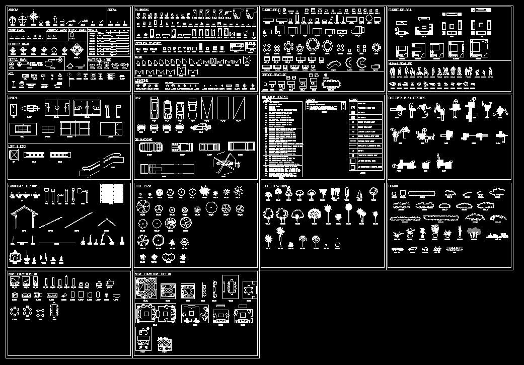 【CAD Drawings Download】