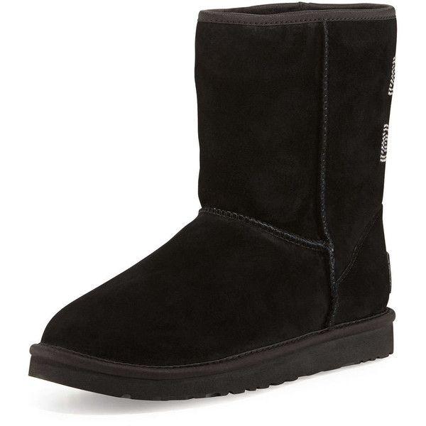 48431990ff9 UGG Australia Crystal Bow-Embellished Classic Short Boot ($220 ...