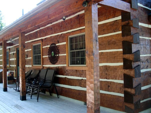 Square log cabins bing images log and timber homes for Square log cabin