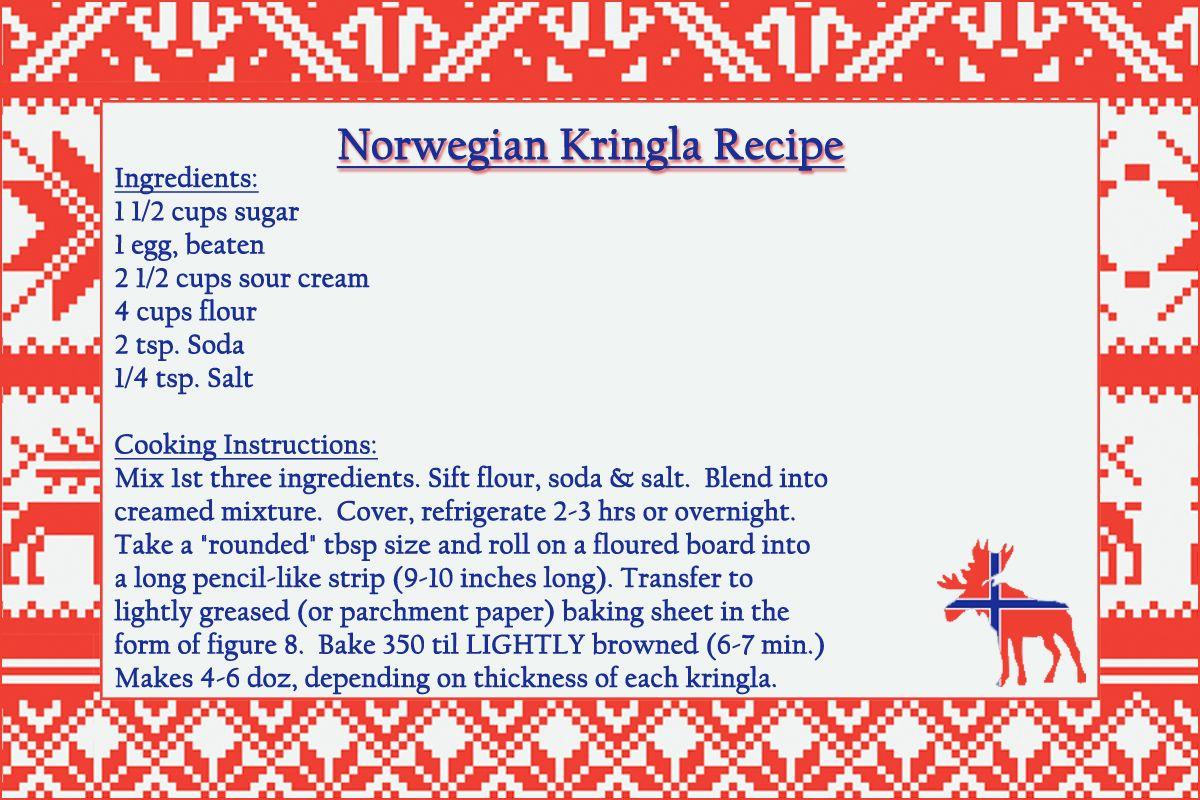 Kringla Recipe Kringla Recipe Norwegian Food Norwegian Christmas