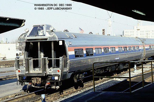 Amtrak #10001. Business car.