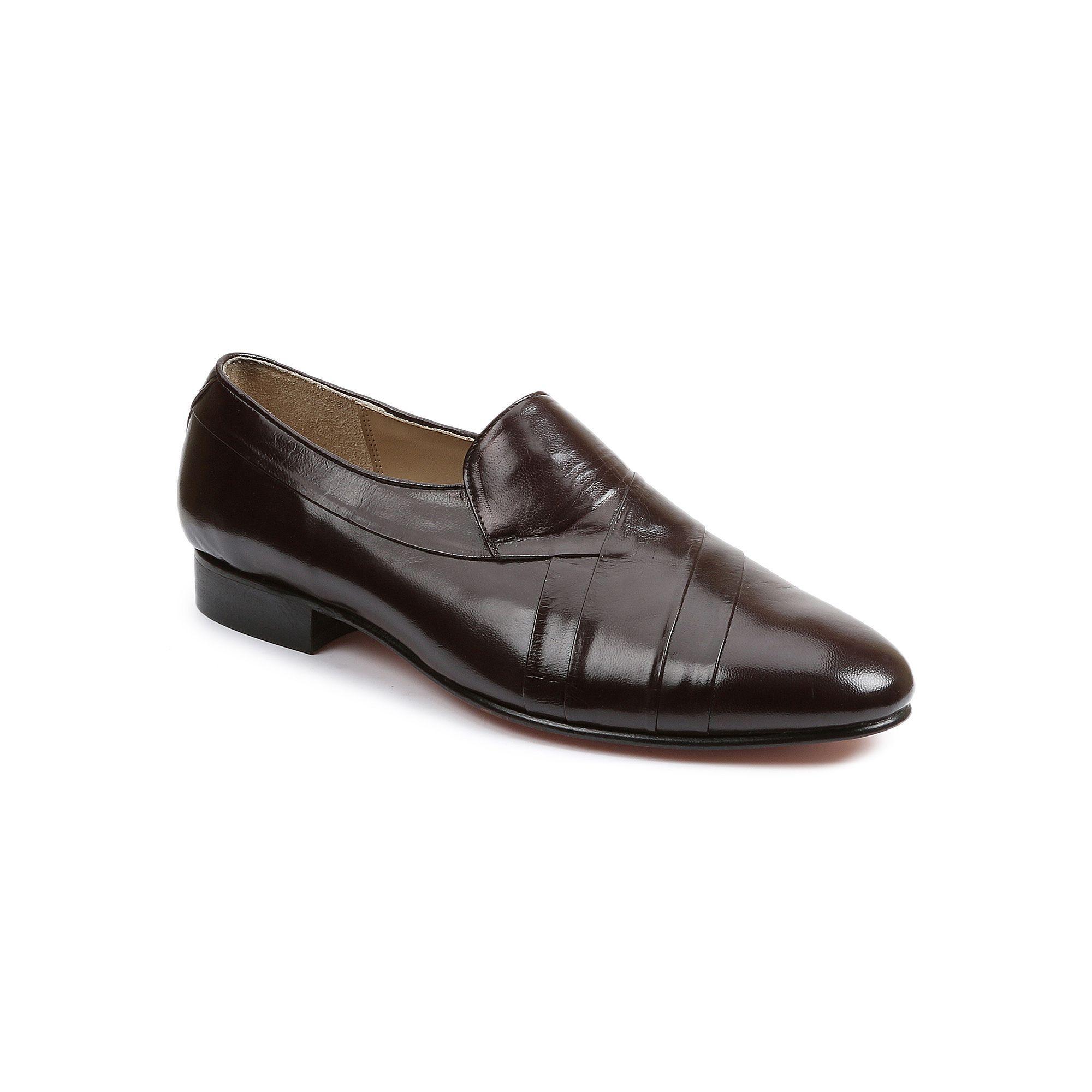 Giorgio Brutini Mens Pleated Leather Dress Shoes