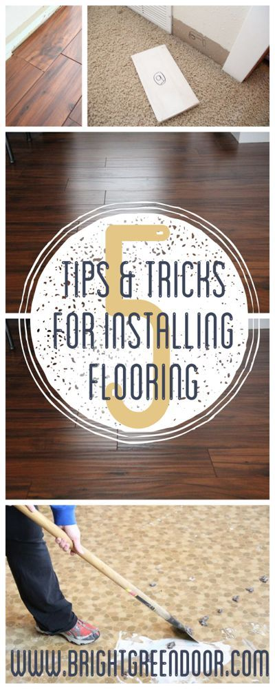Tips For Laying Laminate Flooring Diy By Brightgreen Door