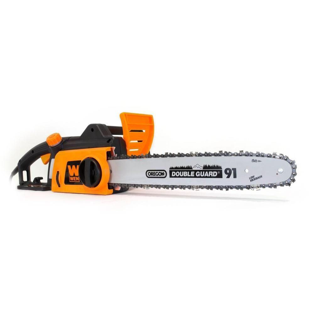 Wen 16 In 12 Amp Electric Chainsaw Electric Chainsaw Best Electric Chainsaw Chainsaw