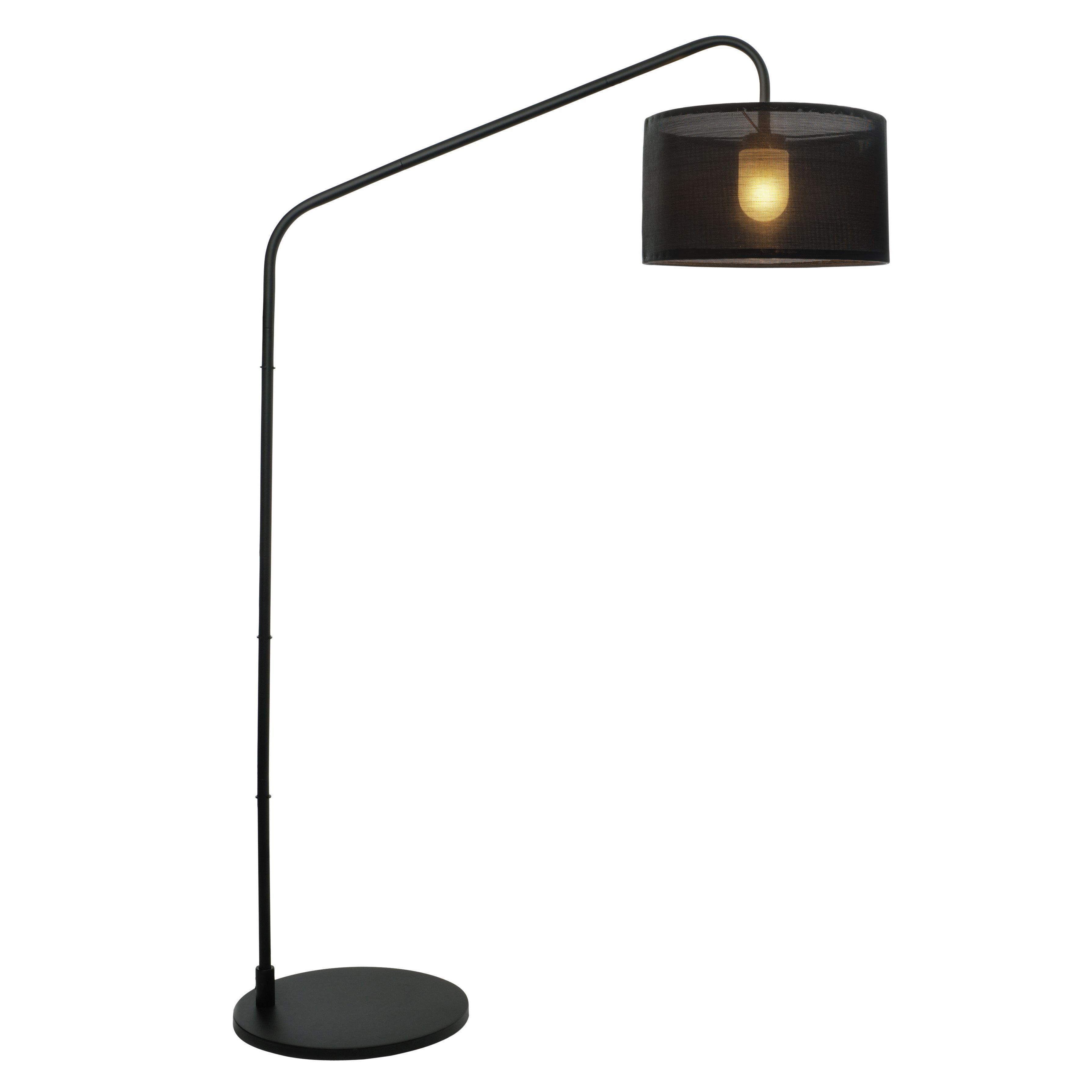 Outdoor floor lamp - Aporia Black Outdoor Floor Lamp