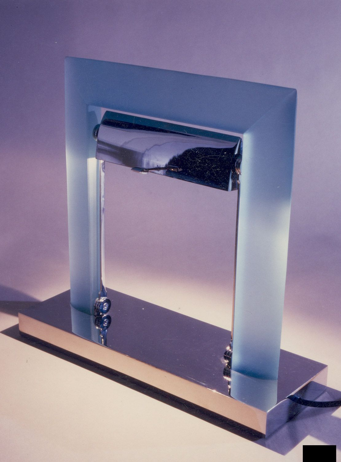 Talent of glass for interior design