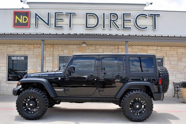 2011 Jeep Wrangler Unlimited Rubicon Lifted 4wd Fort Worth Tx