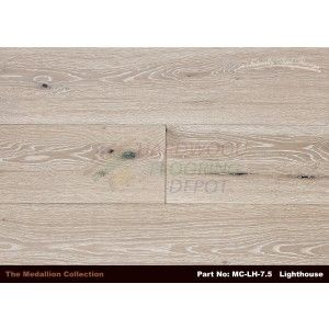 NATURALLY AGED LIGHTHOUSE, MEDALLION COLLECTION, MC LH 7.5, WIRE BRUSHED 7.5