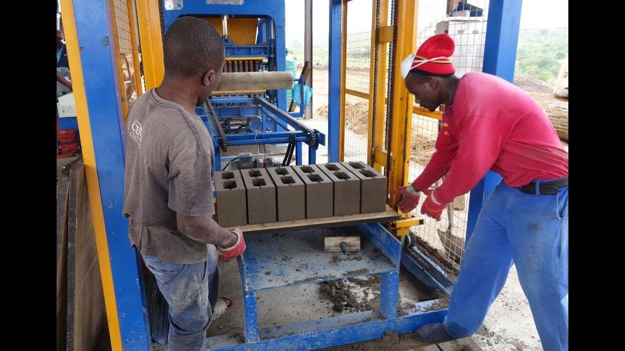 Pin De Giantlin Block Machine Factory En Qt4 18 Automatic Hydraulic Brick Making Machine Bloques De Cemento Fabrica De Ladrillos Bloque De Hormigon