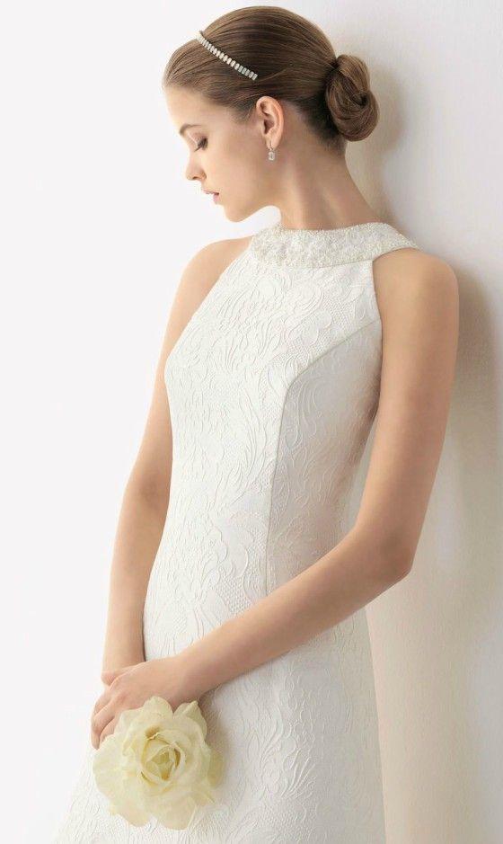 Wedding Dress for Older Brides Over 40, 50, 60, 70. Elegant Second ...
