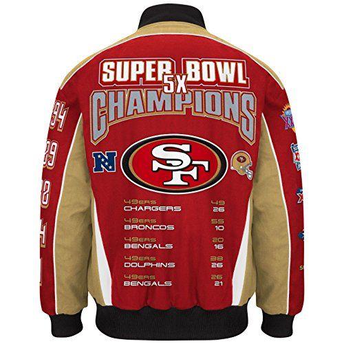 the best attitude db190 8746a San Francisco 49ers Super Bowl Jacket | Cool 49ers Fan Gear ...