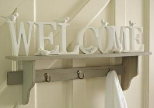 'Welcome' letters with birds - Melody Maison® £16.95