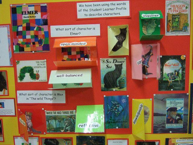 bulletin board about books and authors | Flickr – Compartilhamento de fotos!