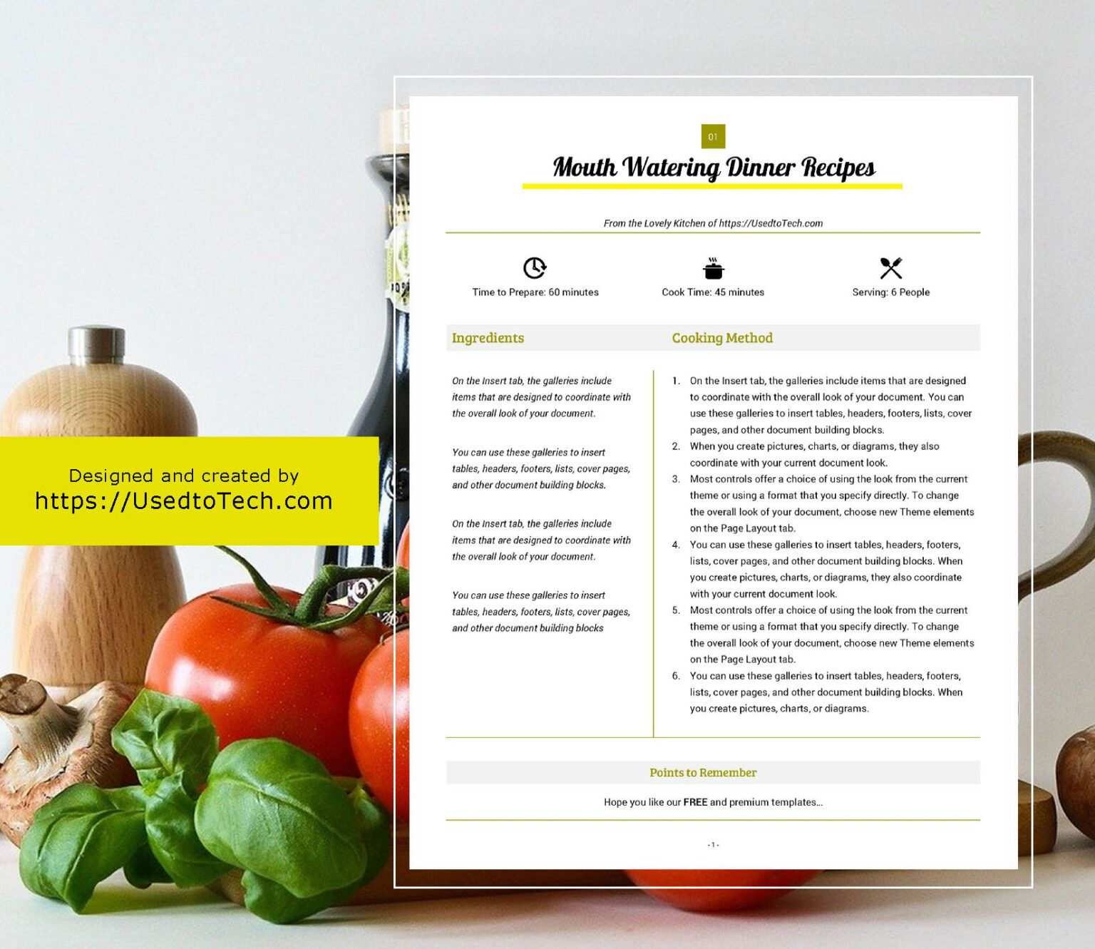 Best Looking Full Page Recipe Card In Microsoft Word Used Pertaining To Free Recipe Card Templates For Mic Recipe Cards Template Recipe Cards Recipe Template