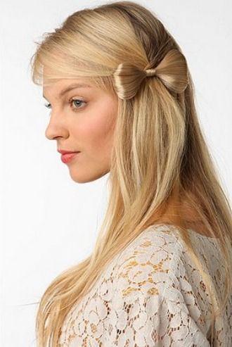 bow hair... OMG
