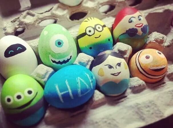 Egg Character Design Ideas : Disney easter eggs easter disney easter eggs