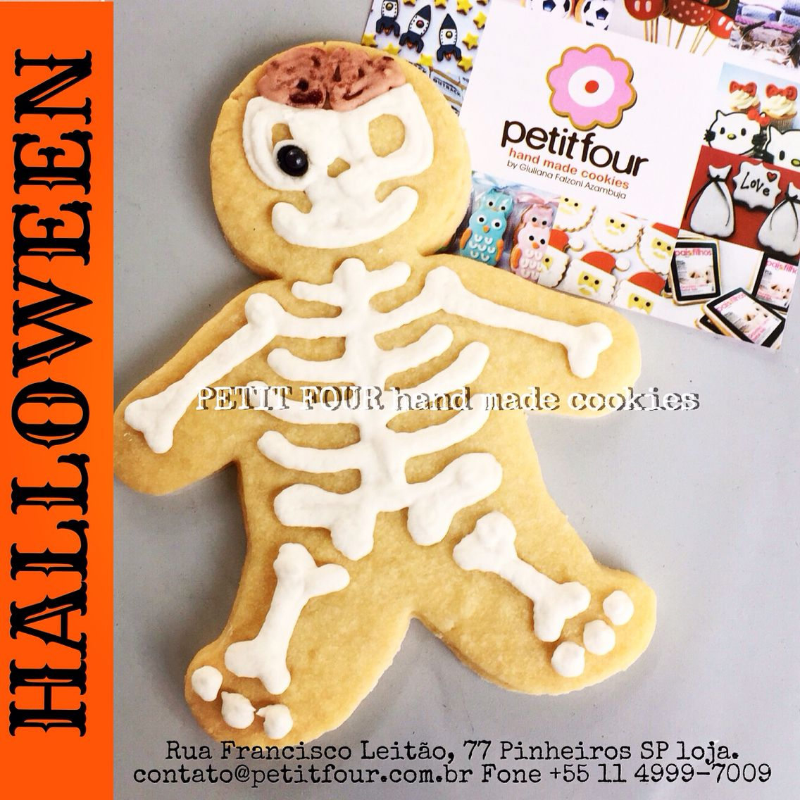 Halloween Cookie! @petitfourbrasil
