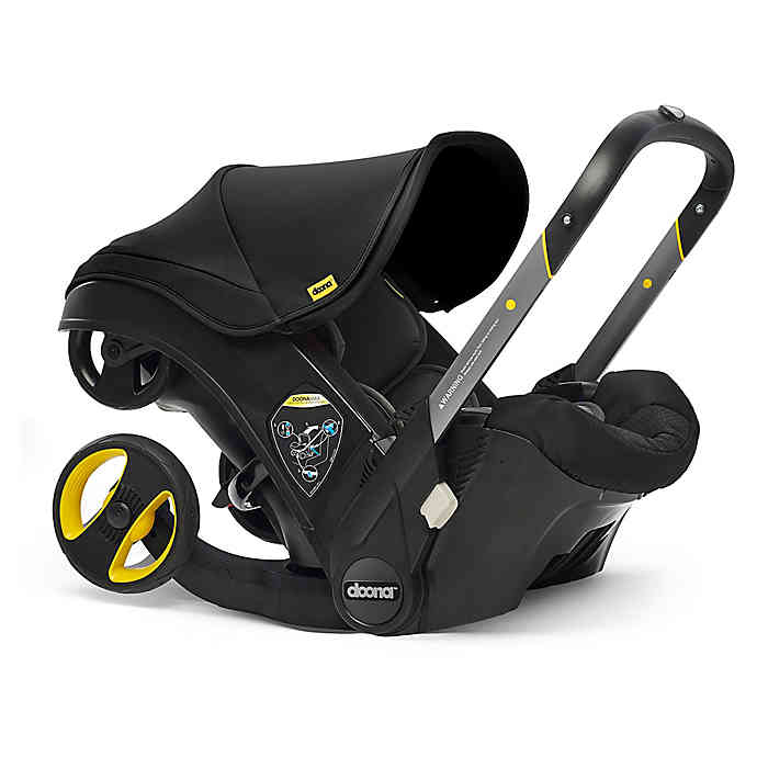Doona™+ Infant Car Seat/Stroller with LATCH Base Car
