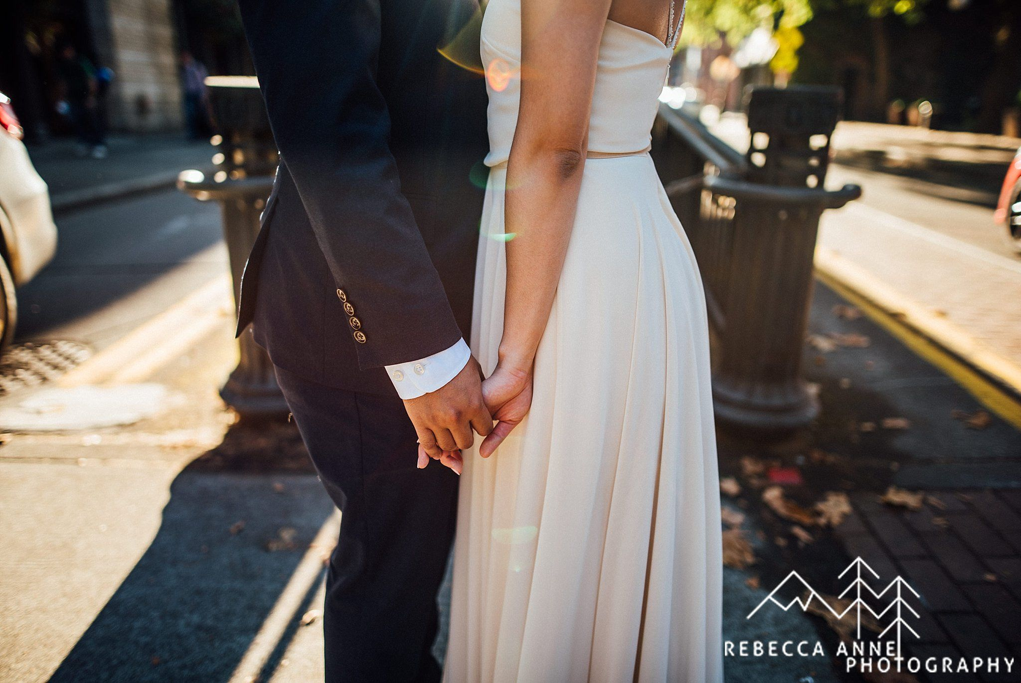 Downtown Seattle Courthouse Elopement // Helena & Sothea