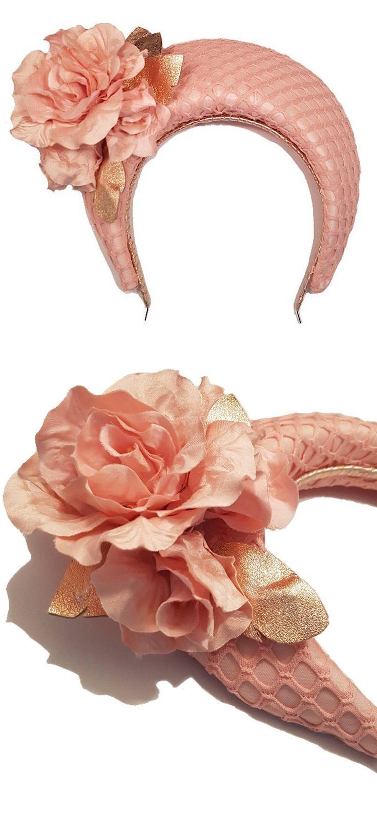 Floral crown racing fashion headpiece australian milliners on etsy floral crown racing fashion headpiece australian milliners on etsy pink floral crown hand blocked crown headpiece has been covered w izmirmasajfo