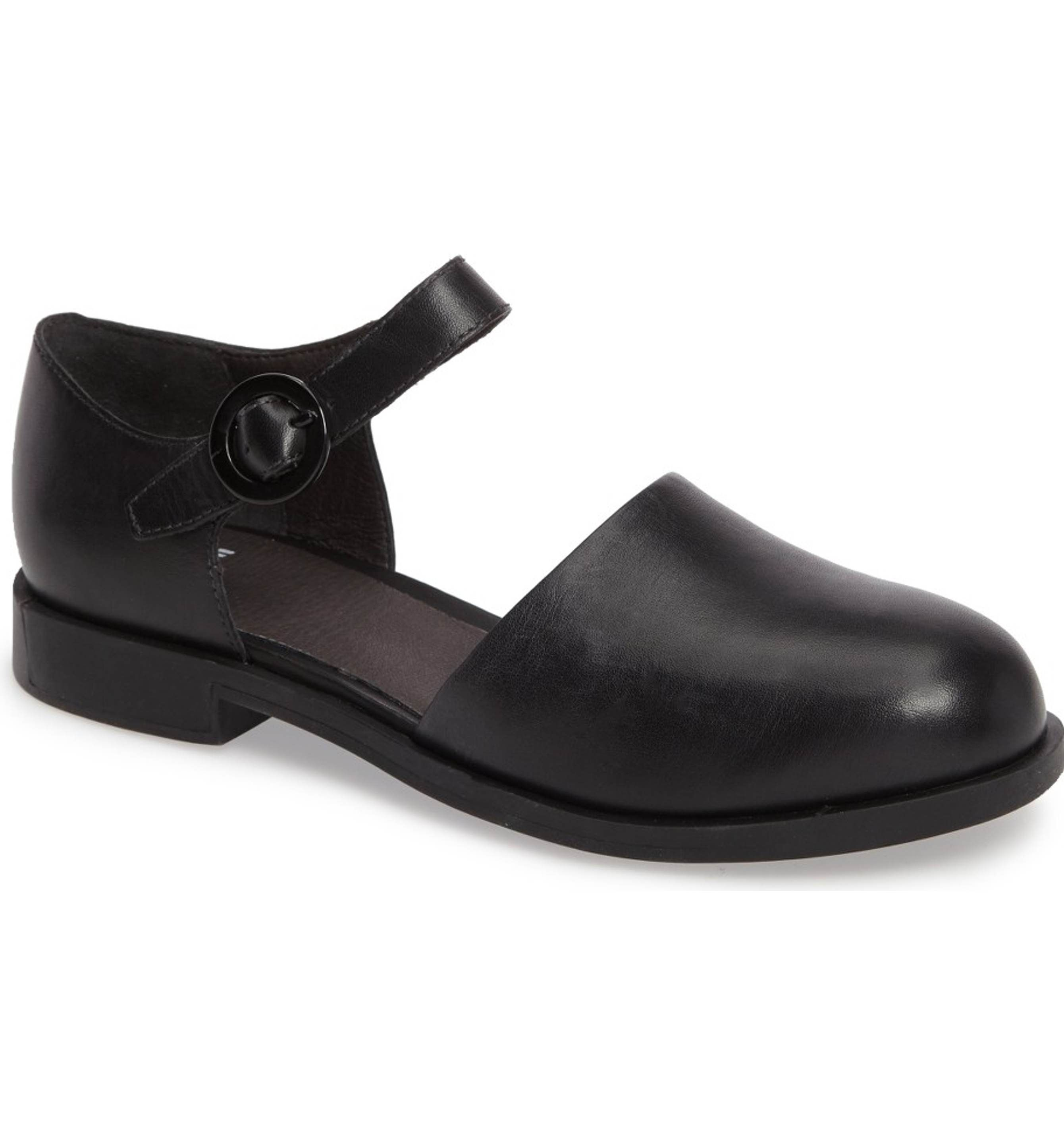 f82d537c075 Main Image - Camper Bowie Ankle Strap Loafer (Women)